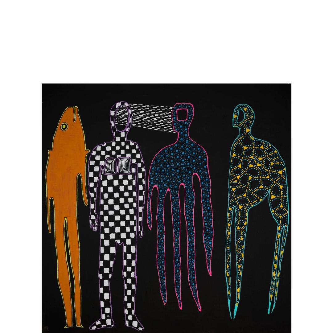 """Έκθεση ζωγραφικής του Iάσονα Βενετσανόπουλου με τίτλο """"Νeo-Μythical"""" στην Αίθουσα Τέχνης Αθηνών"""