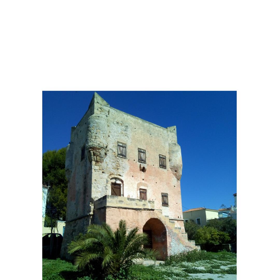 Ο Πύργος του Μάρκελλου, Αίγινα