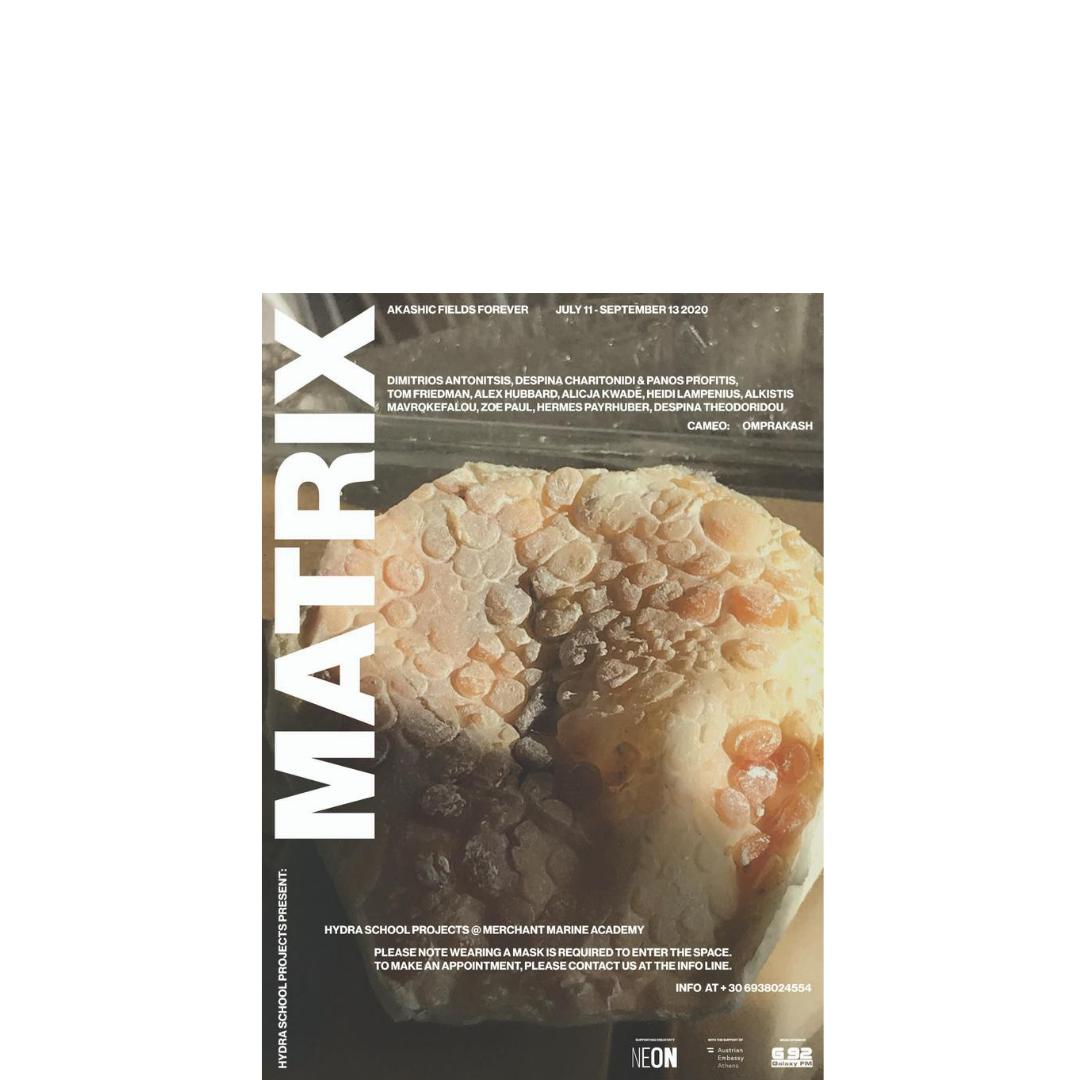 """Η έκθεση """"MATRIX: AKASHIC FIELDS FOREVER"""" για εικοστή πρώτη συνεχή χρονιά στην Ύδρα"""