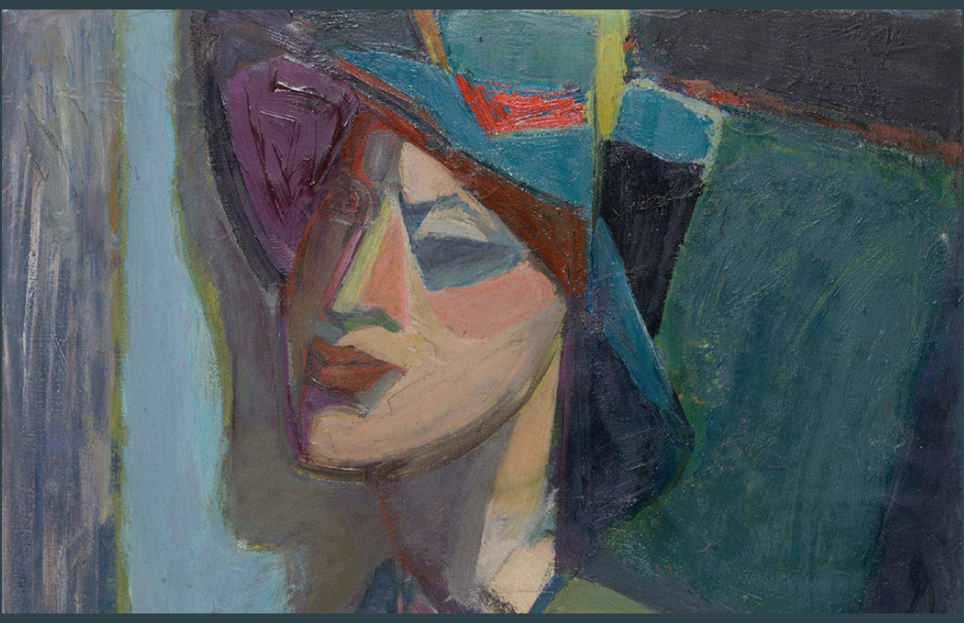 Ελένη Σταθοπούλου: Αναδρομική Έκθεση- Η Γεωμετρία των Χρωμάτων