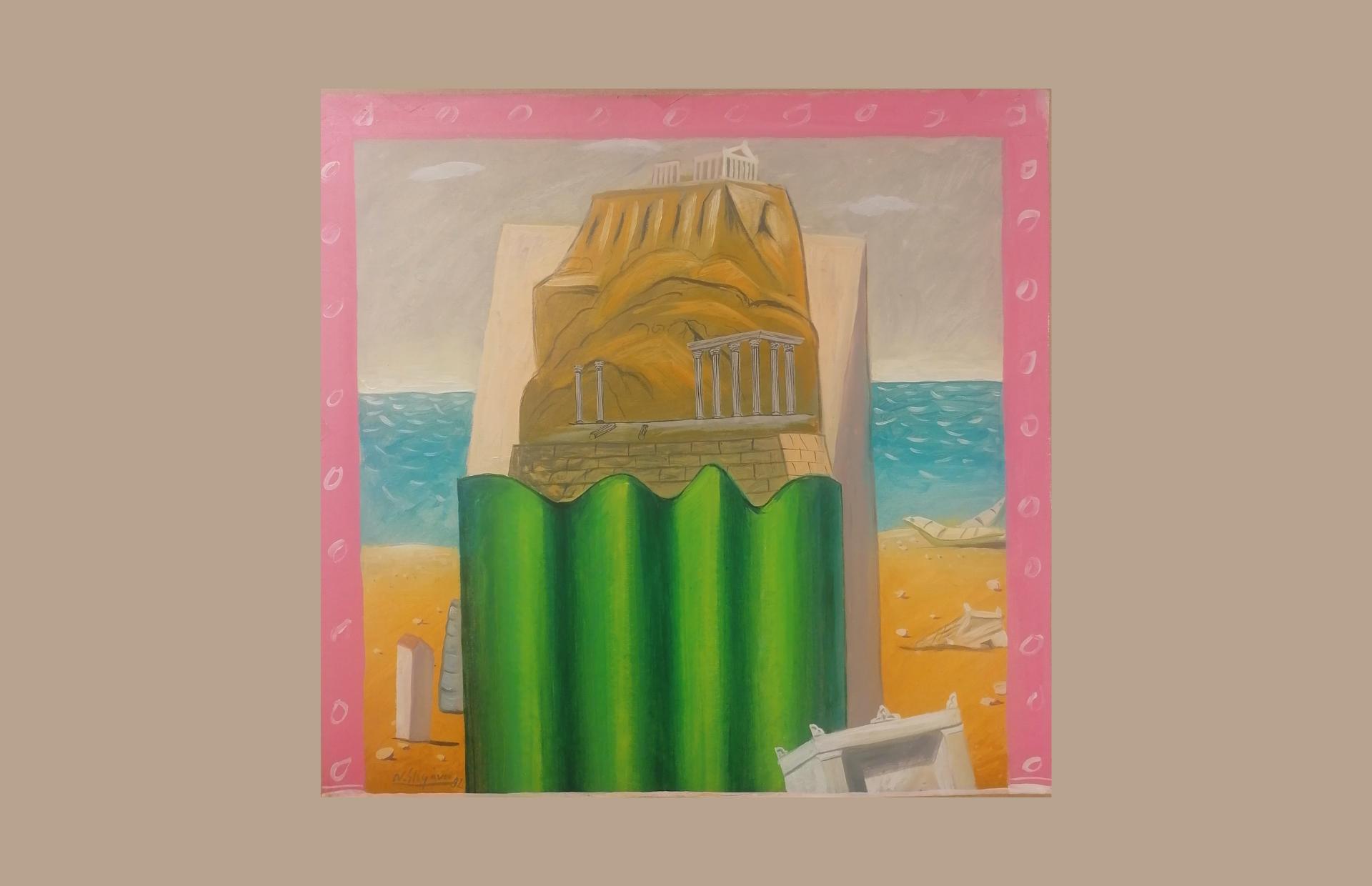 """""""Ακατοίκητα σπίτια"""", εικαστική έκθεση του Νίκου Στεφάνου στην Γκαλερί Έρση"""