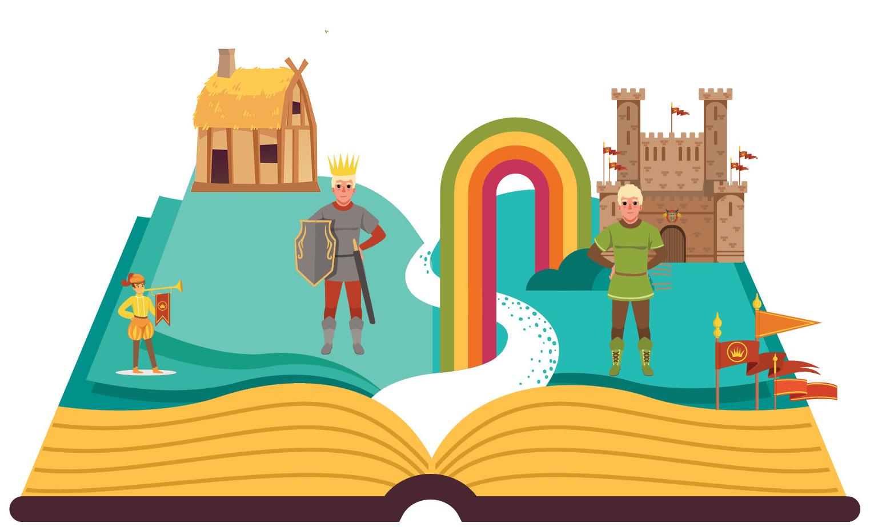 """""""Το μαγικό τετράδιο: Β. Αμερική""""  Online αφήγηση παραμυθιού για παιδιά"""