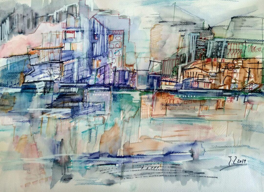 """Έκθεση """"Χρώμα σε Νερό 3 – Θάλασσα & Πόλη"""""""